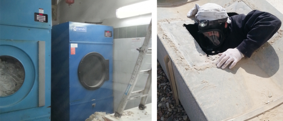 ניקוי מכבסה תעשייתיית